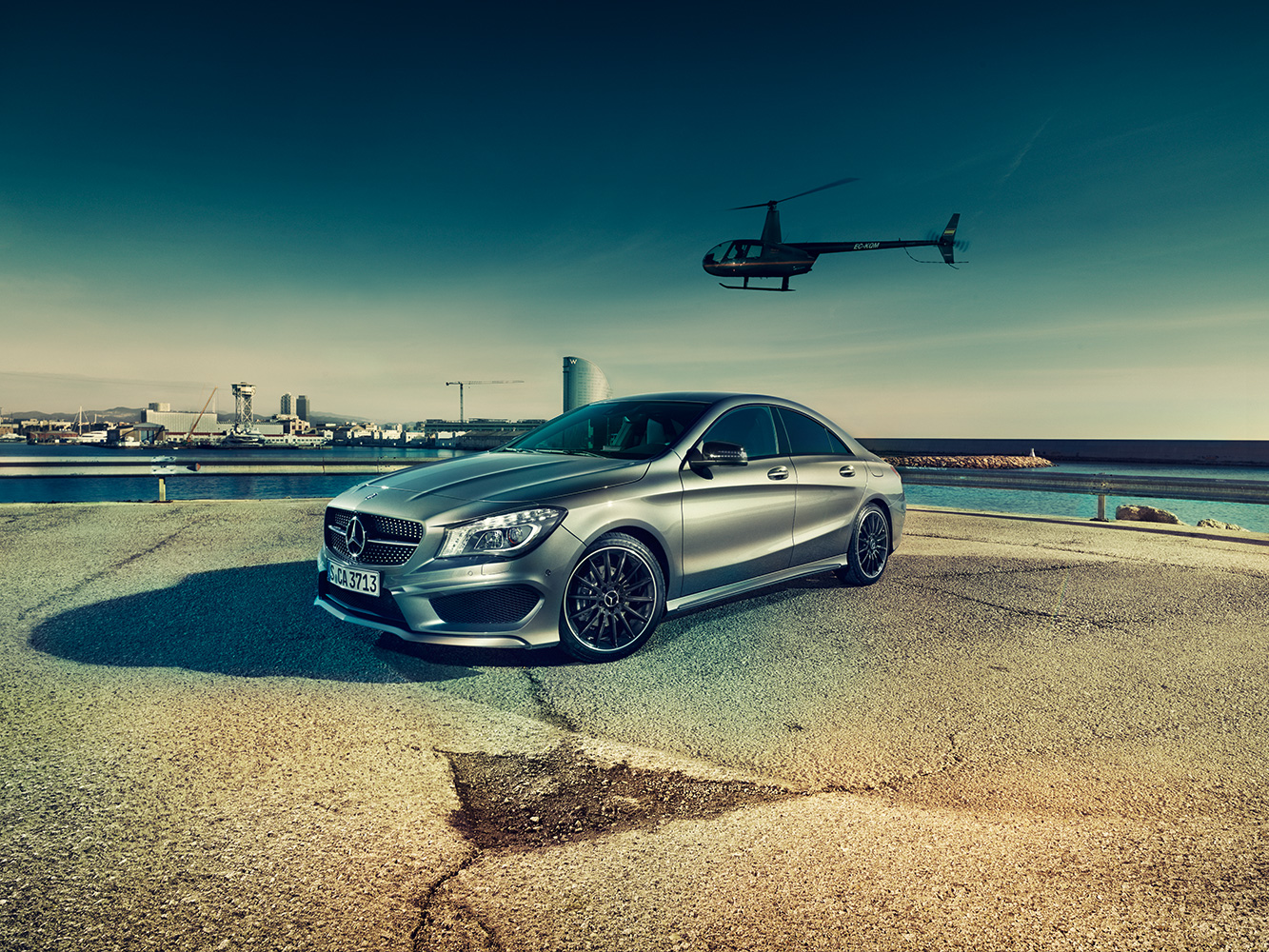 Mercedes CLA for GQ Germany
