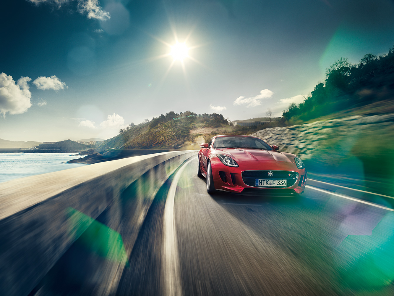 Jaguar F-Type for GQ Magazine