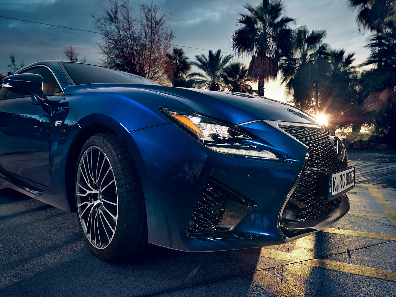 Lexus RC F for GQ Germany