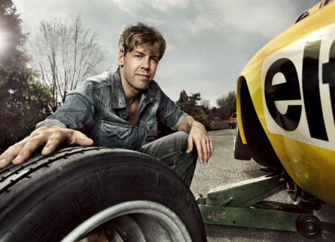 Sebastian Vettel for GQ Germany