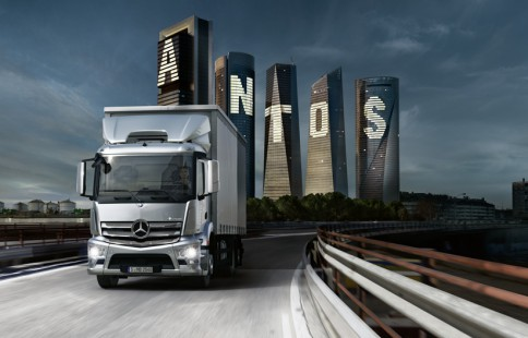 Mercedes Trucks Antos